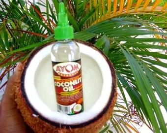 2 OZ Cold Pressed Coconut Oil