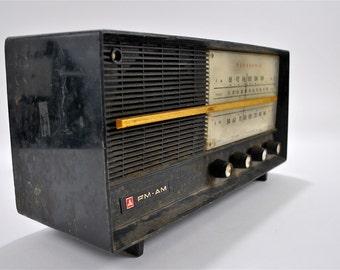 Panasonic Model 740 Vintage AM FM Tube Radio Receiver Made in Japan