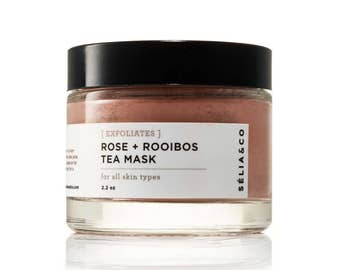 EXFOLIATES Rose + Rooibos Tea Mask