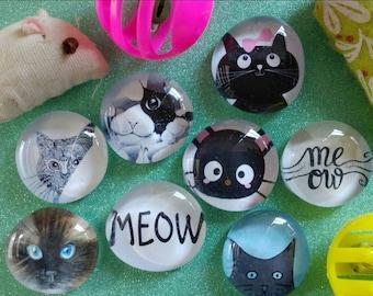 I love cats fridge magnets