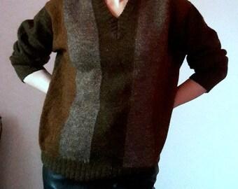 Pringle Brown Clay Wool Sweater
