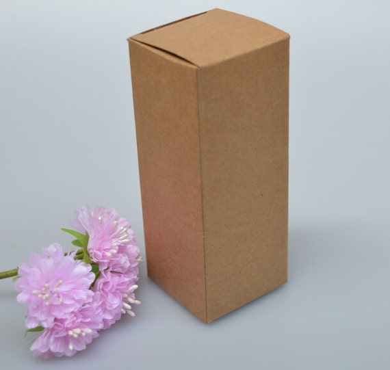 20ps 4 8 4 8 kraft paper box diy lipstick perfume for Kraft paper craft tubes