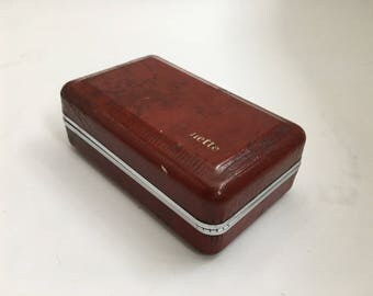 Gillette #58 razor case/box