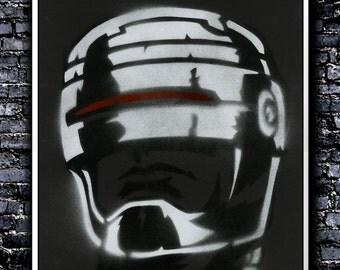 Robocop - A3 Signed Original (Inspired by Robocop)