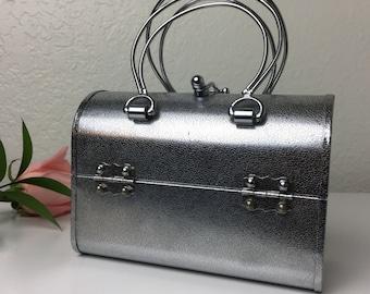 60's Futuristic Metal Handbag