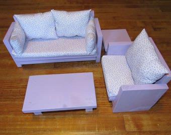 "18"" Doll Living Room Set"