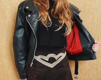 Short jacket perfecto vintage style