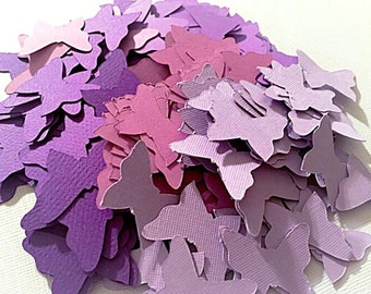 200 die cut paper butterflies. Confetti.  Scrap booking.  Party decorations.