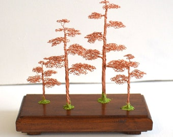 Tree of Life gift idea copper art tree souvenir gift for men minimal home decor gifts handmade wire wrapped tree  gift  art decoration