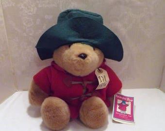 Paddington Bear - Vintage Paddington Bear, Macy's, Vintage Teddy Bear, Paddington, Vintage Paddington, Plush Paddington, Paddington Toy