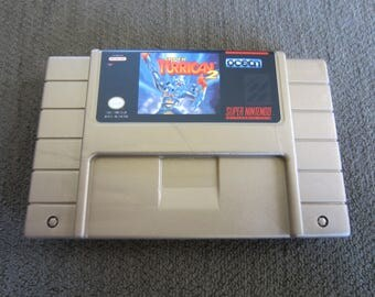 Super Turrican 2 - Super Nintendo - Gold Cartridge