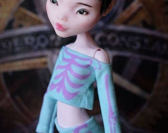Set of clothes for dolls - Handmade Doll Clothes. Monster Doll