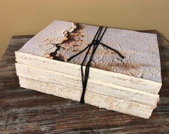 Industrial Decor, Rusty Metal Decor, Rust Metal, Old Metal, Old Books, Corrosion, Black, Rust, White Home Decor, Rustic Decor