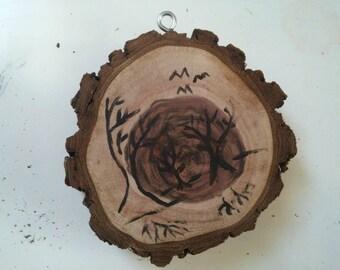 Leafless Tree Ornament