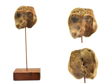 Sculpture anthropomorphique - Paréidolie - Paléologie