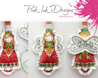 Fairy, angel sewing pattern, ornament.