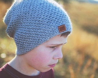 The Missions Beanie | Crochet Slouchy Beanie | Portion of sales goes towards missions projects