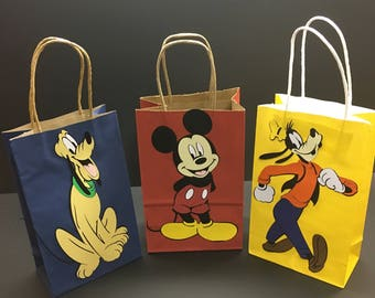 Micky Mouse Favor Bag