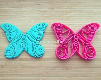 Butterfly -02 Cookie Cutter