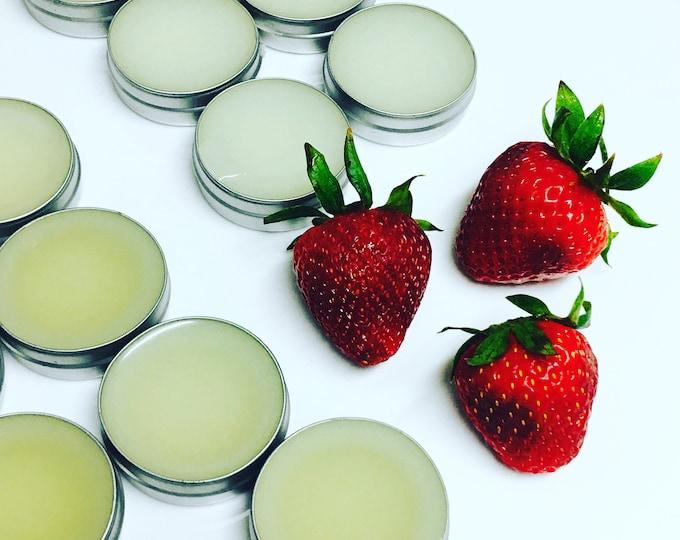 all natural strawberry lipshine lipgloss sheer glossy lip