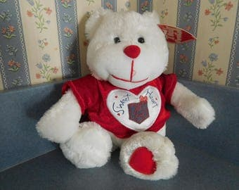 Dan Dee Collectors Choice Sweetheart Plush Bear