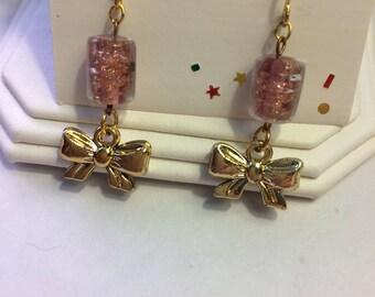 Pretty Bows pierced earrings