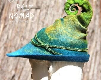 Fern Fairy Felt Hat