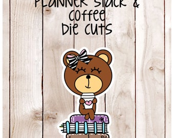CoCo Planner Stack & Coffee Card Stock Die Cuts DC 007