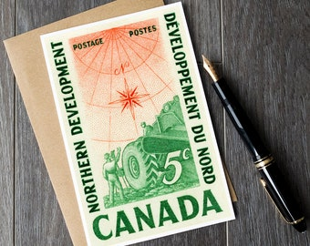 Canada 150 cards, Canadian history cards, history teacher cards, Canada birthday cards, Muskoka cottage decor, Yukon Canada, NWT Canada, art