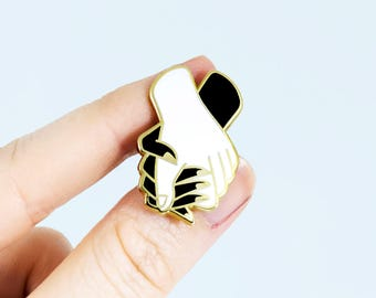 Hold Tight Enamel Pin