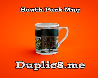 Custom South Park character mug