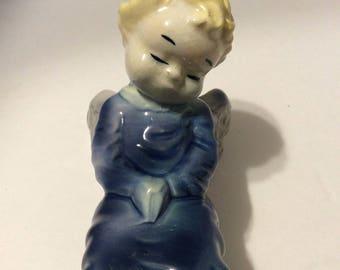 Vintage Royal Copley angel wall pocket, Royal Copley angel vase, Royal Copley angel planter, angel vase, angel wall pocket