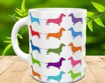 Dachshund sublimated Mug