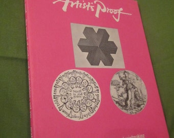 1968 ** Artists Proof * The Annual of Prints and Printmaking Vol. VIII 1968 ** Artists Proof * The Annual of Prints and Printmaking ** sj