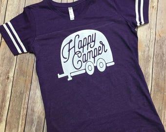 Happy Camper Jersey shirt