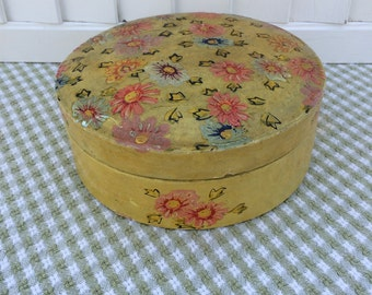 Vintage Hand Painted Box