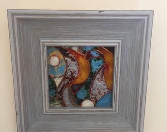 Painting oil on canvas- 'Wood Light'