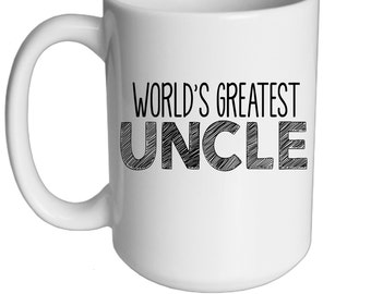 World's Greatest Uncle 15 oz. Mug