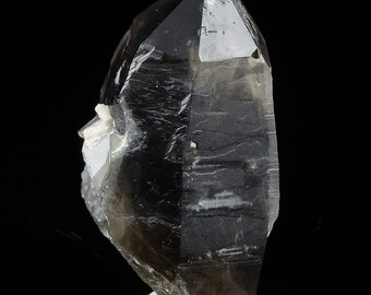 6cm SMOKEY QUARTZ Crystal from North Carolina - Natural Quartz Crystal Specimen, Healing Crystal, Raw Crystal Point, Raw Quartz Point 6857