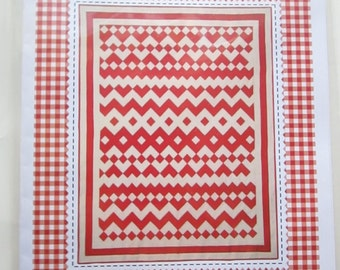 Swiss Miss quilt pattern, by American Jane Patterns