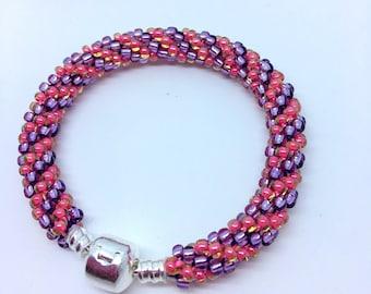 Zara kumihimo bracelet