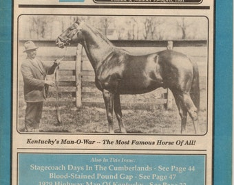 1991 Kentucky Explorer 3 magazines April May and June a magazine for all Kentuckians