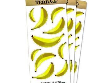 Banana Bonanza Removable Matte Sticker Sheets Set