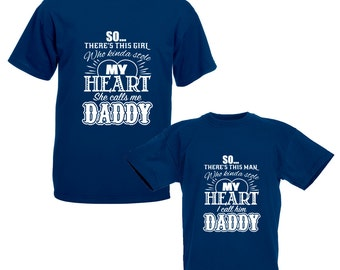 37f3d6d8 Stole My Heart T-Shirt - Matching Father Daughter Top - Men's Gift - Fathers