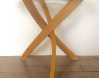 CATTELAN Side / Coffee Table - Solid Wood frame 1990,s