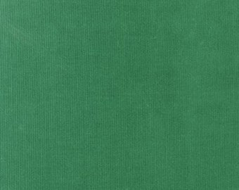 Green Corduroy Fabric, Kelly green 21 wale featherweight corduroy, FABRIC FINDERS Fabric, 100% cotton