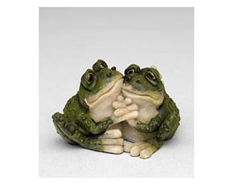 Two Frogs Mold 3d Frog Mold Bridal shower Soap Mold Wedding Party Favors Valentines Day Soap or Food Grade Mold 3d Frog Mold