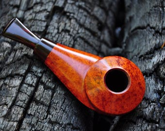 Eskimo Tobacco Pipe. Smoking pipe. Briar pipe. Handmade. Briar wood pipes. Tobacco pipe