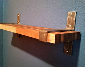 Metal Shelf Brackets - Industrial Shelf Brackets - Heavy Duty Shelf Brackets