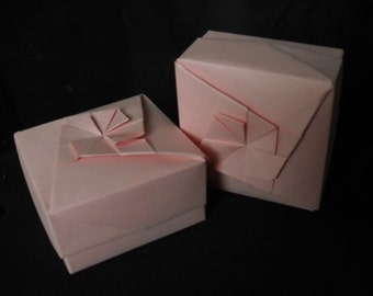 Pink Origami Box